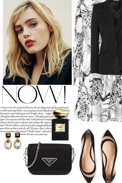 Elegant black&white style