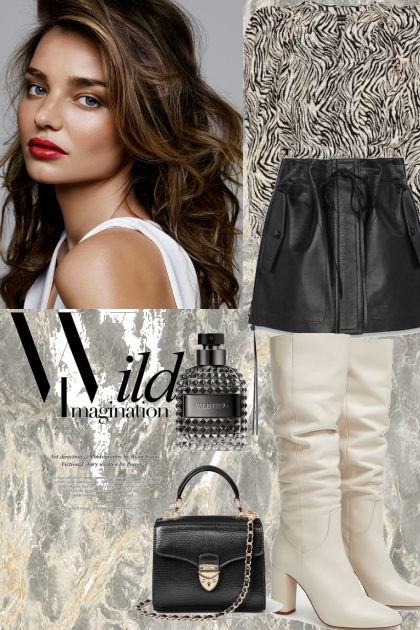 Glam casual look 3