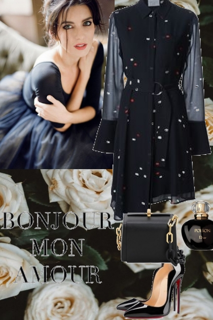 Elegance black look