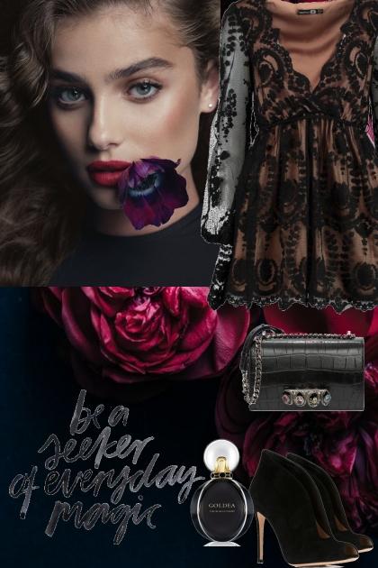 Elegance black look 2
