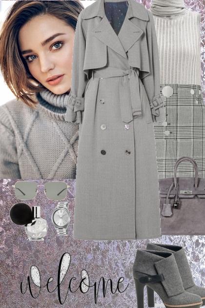 Grey tones look 4