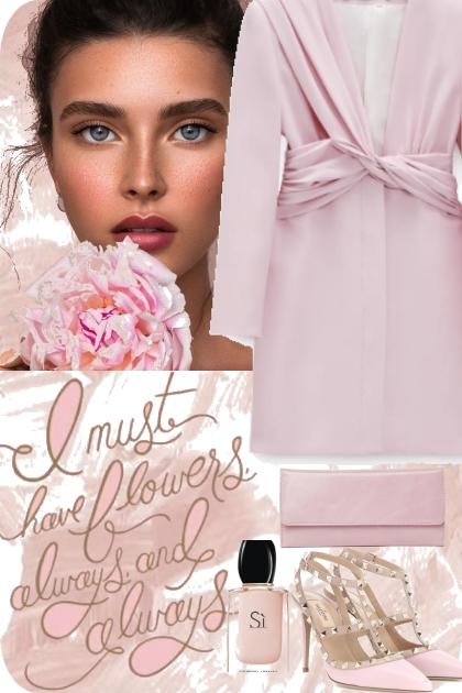 Elegant pink set