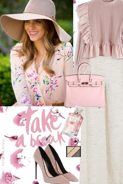 Elegant pink look