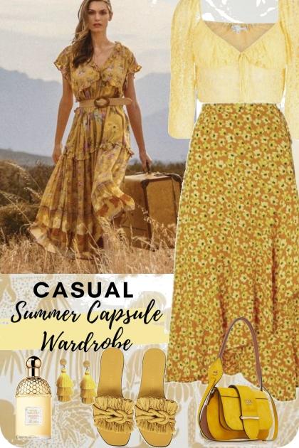 Summer yellow set