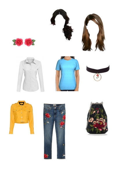 Belle modern day outfit
