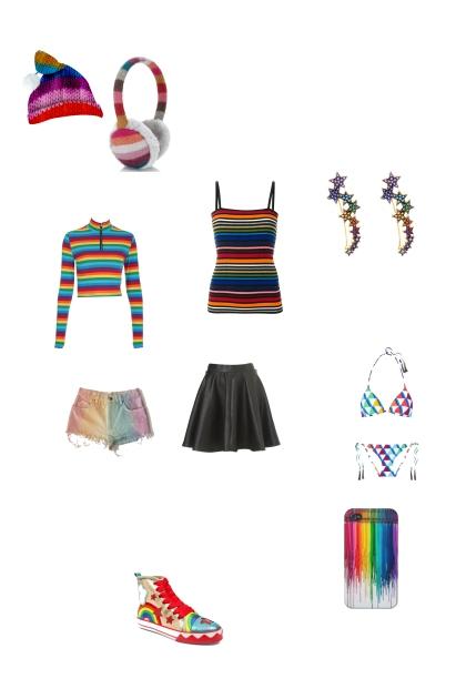 Rainbow! Rainbow! Rainbow!