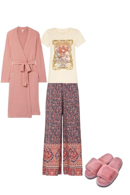Rosey Pajamas
