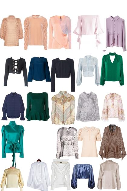 линии блузы