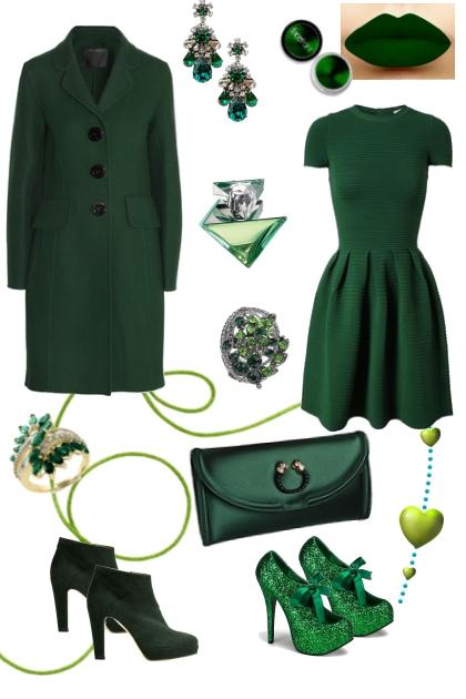 Цвет настроения - зеленый