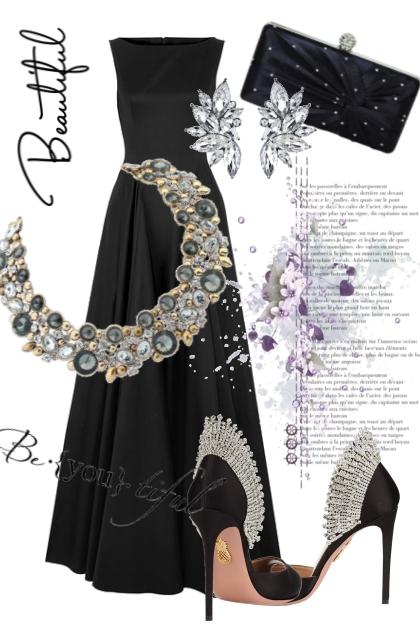 Classic, black and diamonds