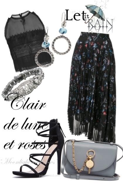 Waiting for rainy autumn- Fashion set