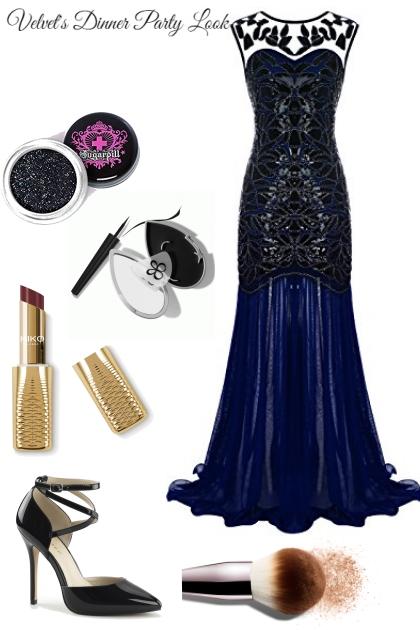 Next Gen Dinner Outfit (Velvet
