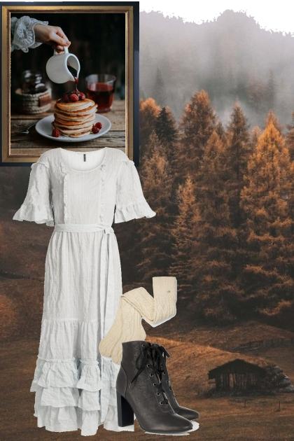 Breakfast in a Cabin