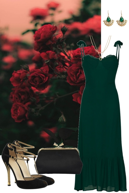 Emeralds and Roses