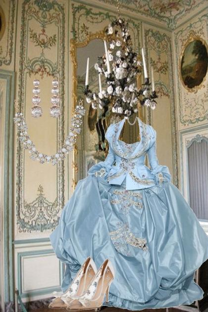 Lounging at Versailles