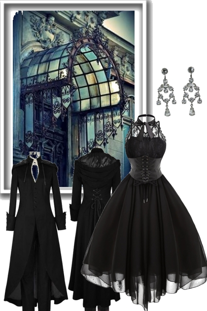 The Meeting at Midnight- Fashion set