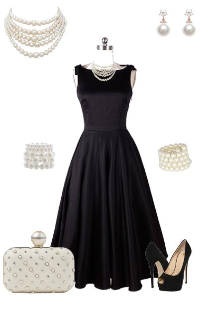 A Lady in Pearls - Fashion set