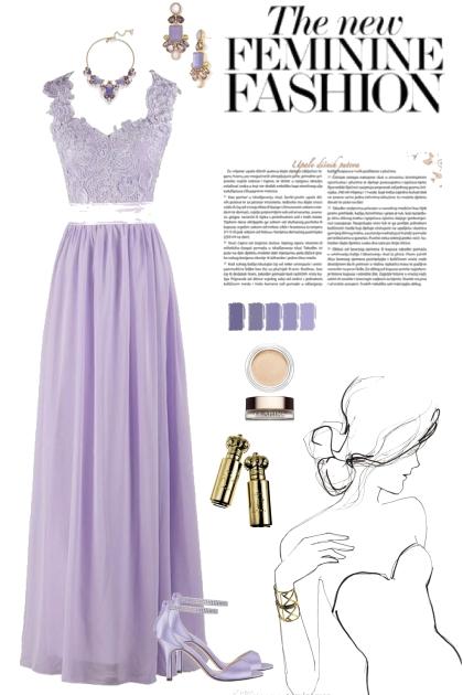 Lady in Lavender