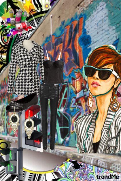 Say Yes to grafiie- Fashion set