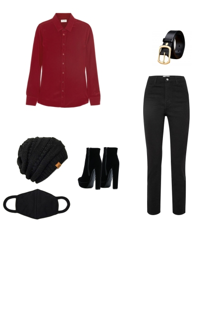 Taehyung Airport Outfit pt.1