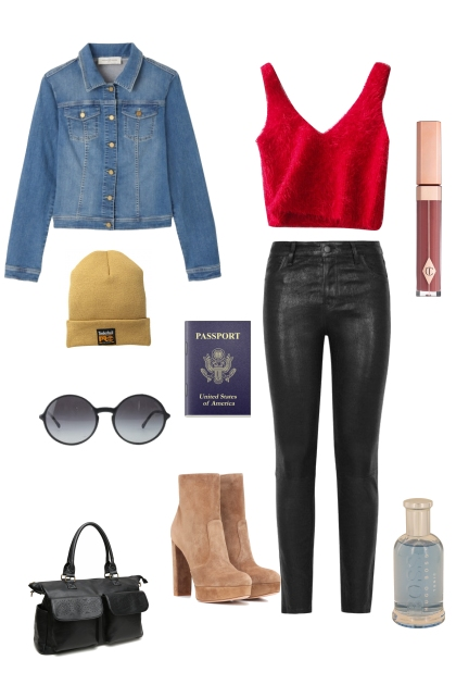 Namjoon Airport Outfit pt.1- 搭配