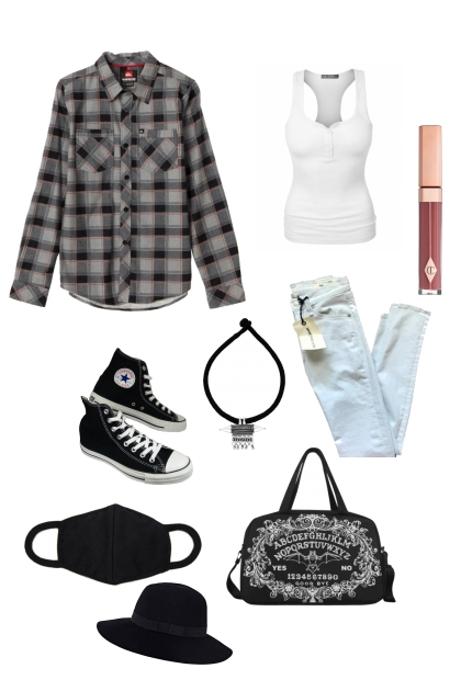 Yoongi Airport Outfit pt.1- Fashion set