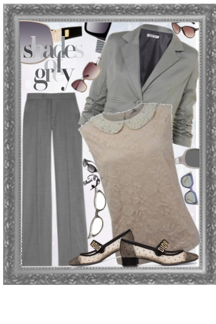 Shades of Gray - Wear to Work