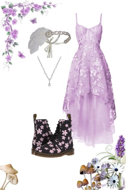 Prom (vintage, violet, hiking)