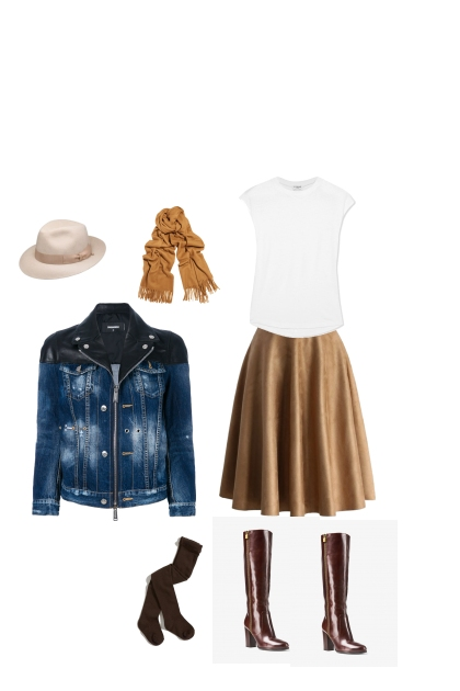 Casual chic- Fashion set
