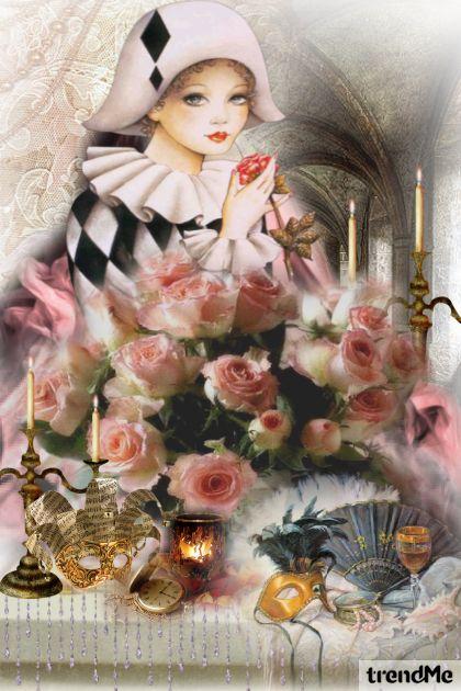 Harlequin Roses