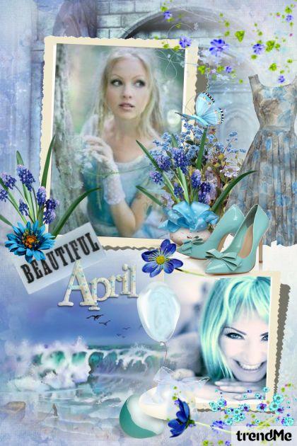Beautiful April- Fashion set
