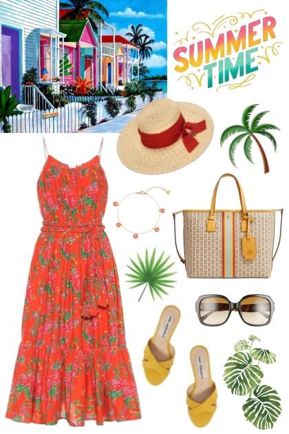 Vacation Look #18- Модное сочетание