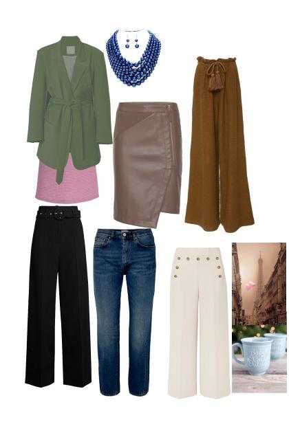 six sexy khaki combinations