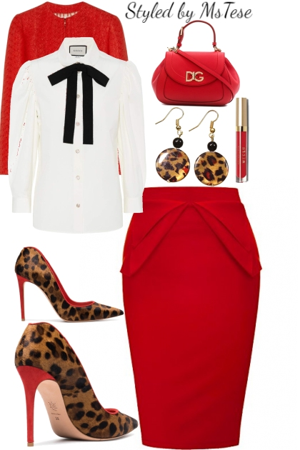 Red/Leopard a Class Act