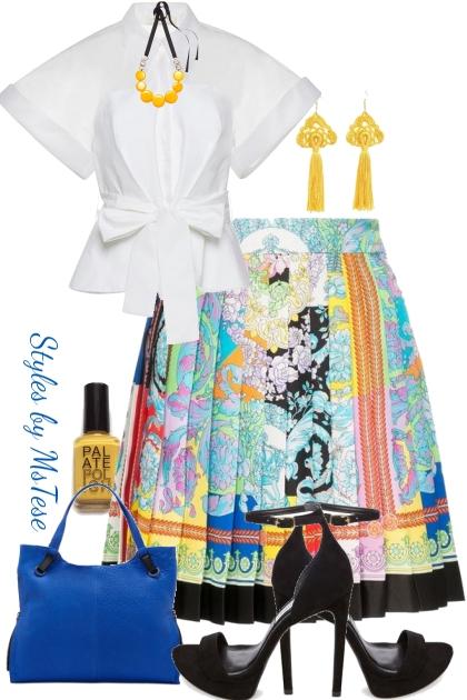 Paisley Skirt Fab-ness