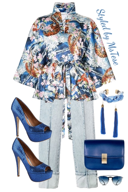 Royal Blue and Cute