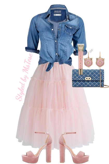 Pink & Denim Fab