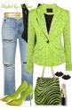 Neon Green & Cute
