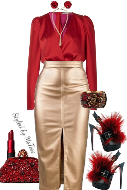 Red Glam & Style