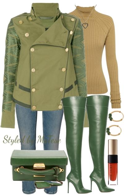 Green Fall Fashion
