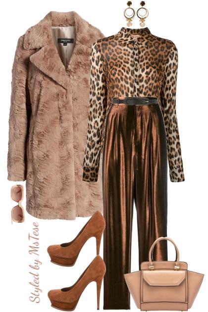 Leopard & Shimmer