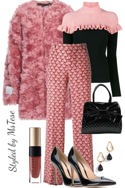 Furry Pink & Fab