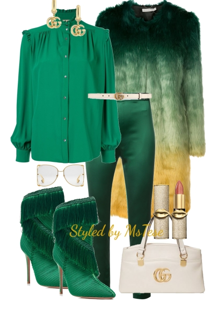 Winter Green & Fab