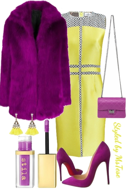Fashionably Bold- combinação de moda