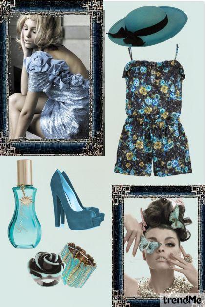 Blue girl! :)