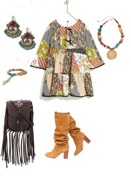 этнический- Combinaciónde moda