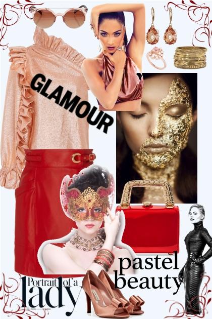Glamour beauty