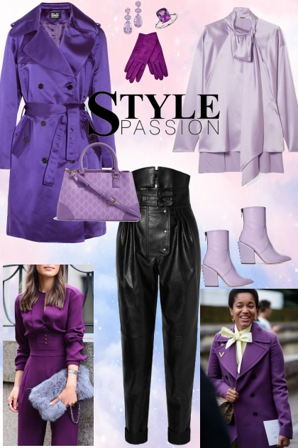 Violet style