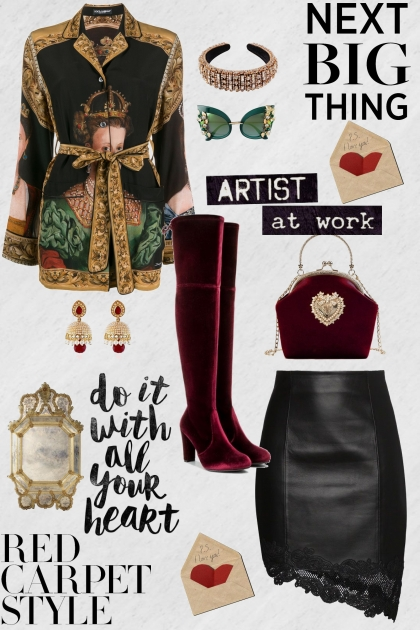 Vintage Artist- Fashion set