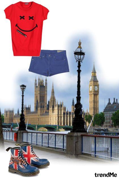 A walk around London
